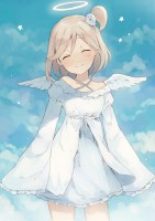 yande.re 409944 dress girlfriend_(kari) komazu mishima_yurara wings.jpg