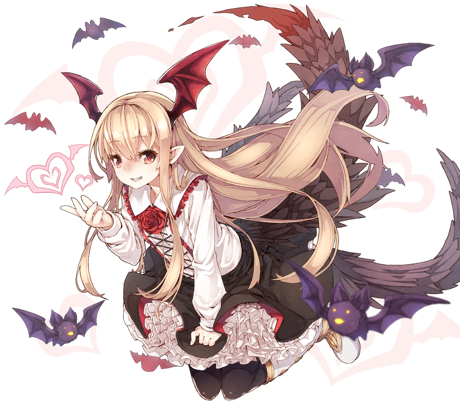 yande.re 363734 gothic_lolita granblue_fantasy lolita_fashion namake pointy_ears tail vampy_(granblue_fantasy) wings.jpg
