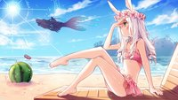 yande.re 326101 animal_ears bikini bunny_ears cleavage elin feet killian swimsuits tera_online wallpaper.jpg